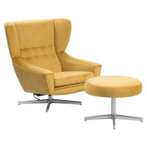chair with ottoman l