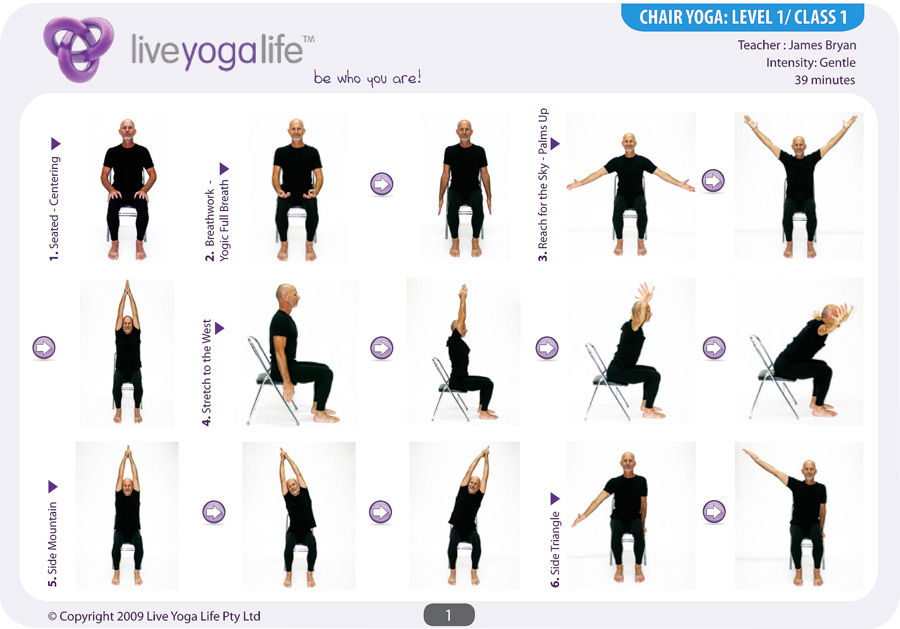 chair yoga routines