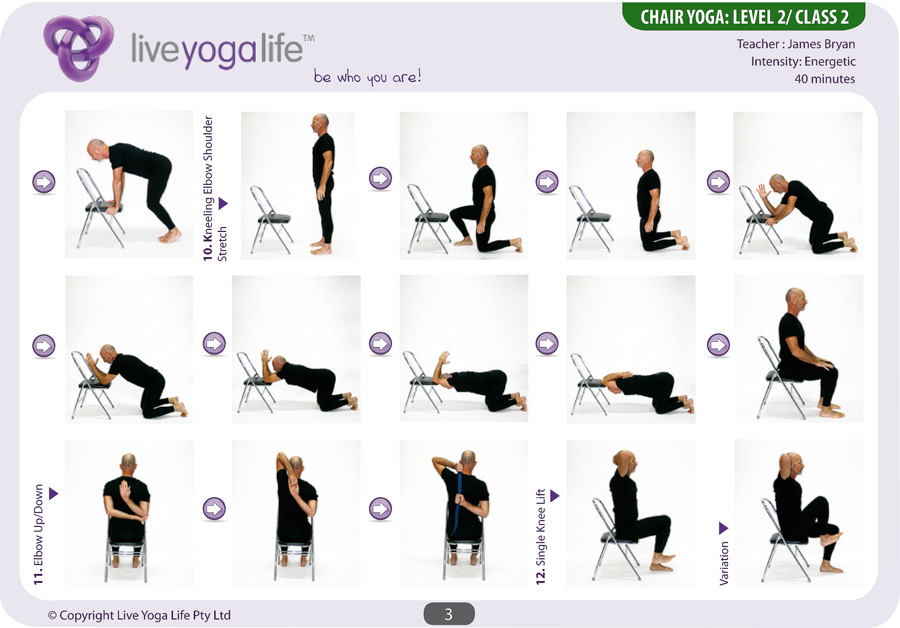 chair yoga routines chair yoga level class