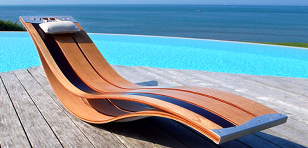 chaise lounge chair outdoor pooz wooden lounge