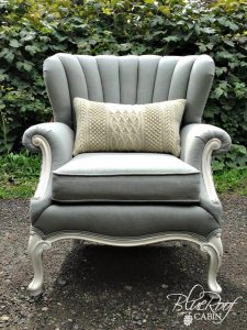 channel back chair linen channel back chair
