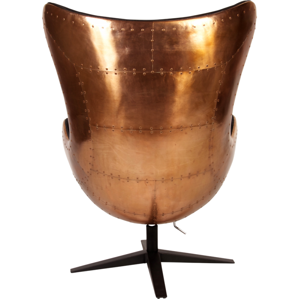 charles and ray eames chair copper avaiator egg chair