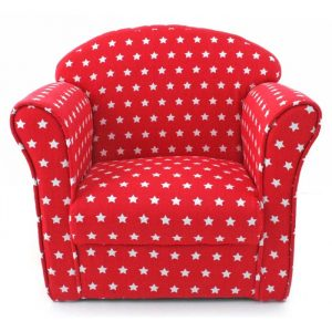child arm chair childrens red star armchair