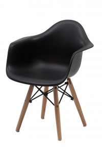 children plastic chair replica charles eames kids chair black