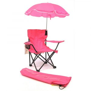 childrens camp chair options:wcr pink