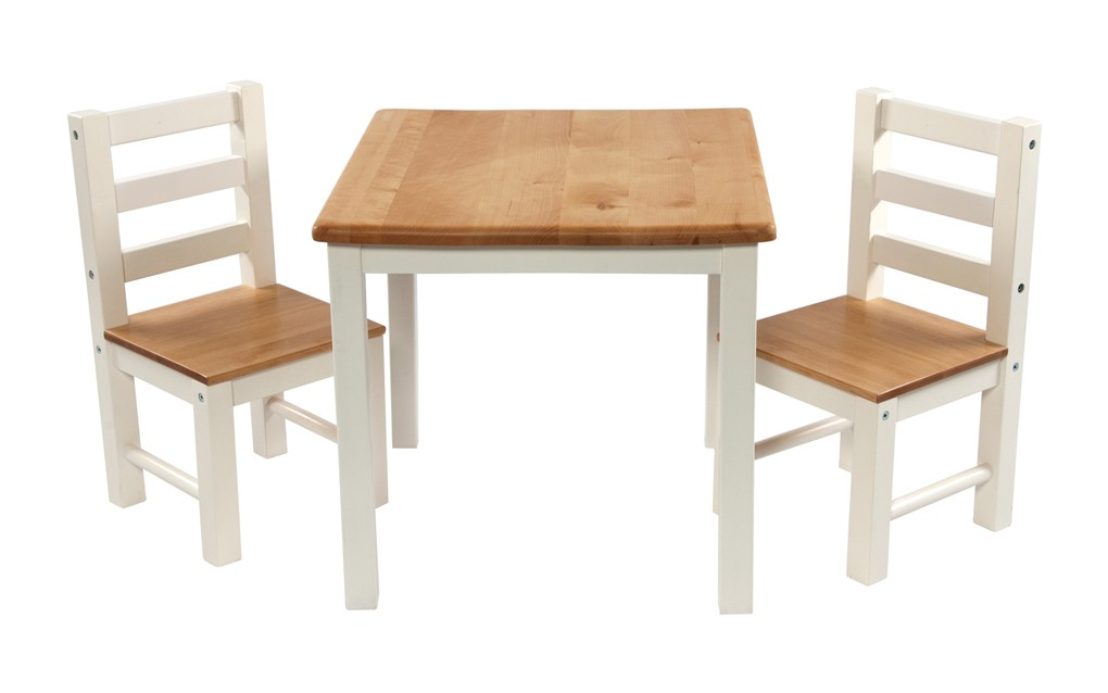 childrens wooden tables and chair sets