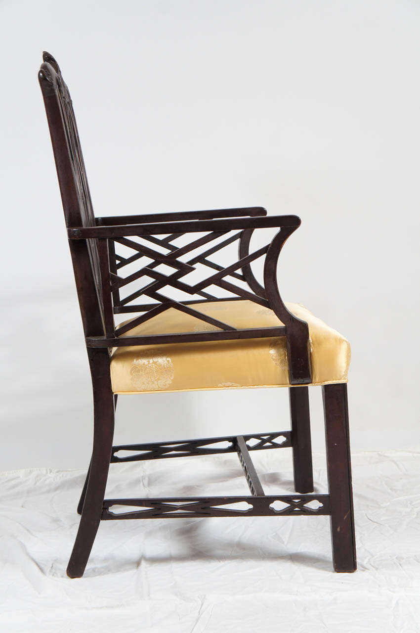 chinese chippendale chair dsc