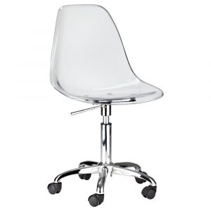 clear desk chair clear desk chair target