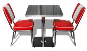 coca cola table and chair tos