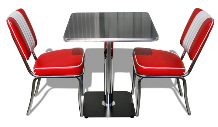 coca cola table and chair