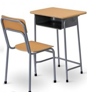 computer desk and chair set single student desk and chair mxzy