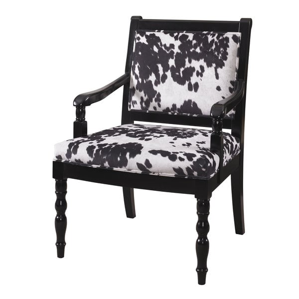 cow print chair glossy black cow print chair d e cb ac eddbb