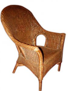 cushion for wicker chair barcelona chair no cushion wicker brown wash