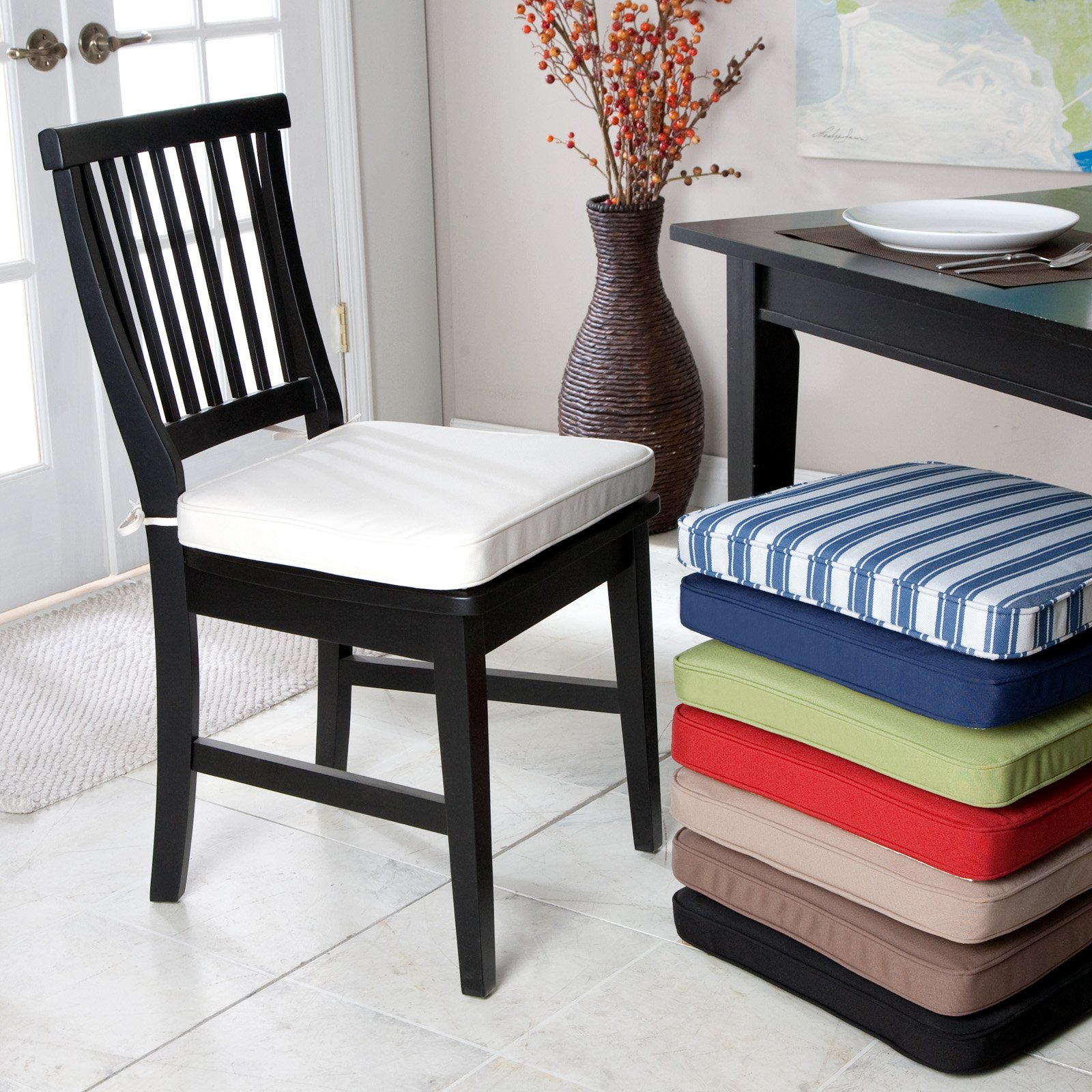 dining chair pads seat cushions dining room chairs