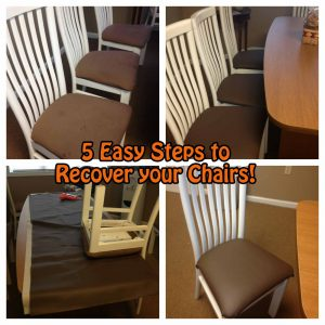 diy dining chair diy chair recover pensacola fl