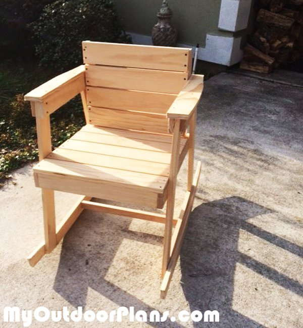 diy rocking chair