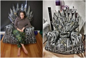 diy throne chair brilliant game of thrones diy projects all men must craft homesthetics decor