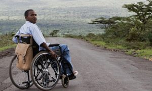 donate wheel chair zachary kimotho
