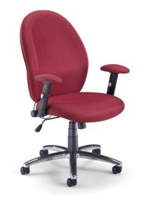 dormeo octaspring chair ofm ergonomic management chair wine