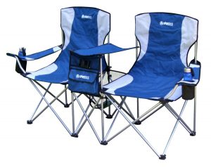 double camping chair giga tent double camping chair blue