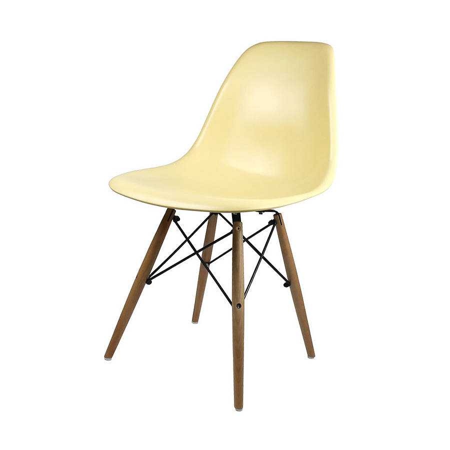 eames dining chair original eames style dining six chair set