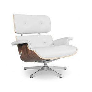 eames lounge chair replica replica eames lounge chair with ottoman italian leather white