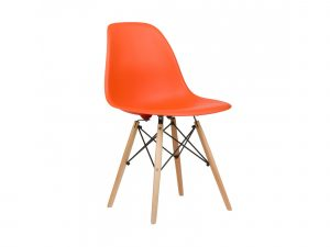 eames style chair eames orange dsw chair