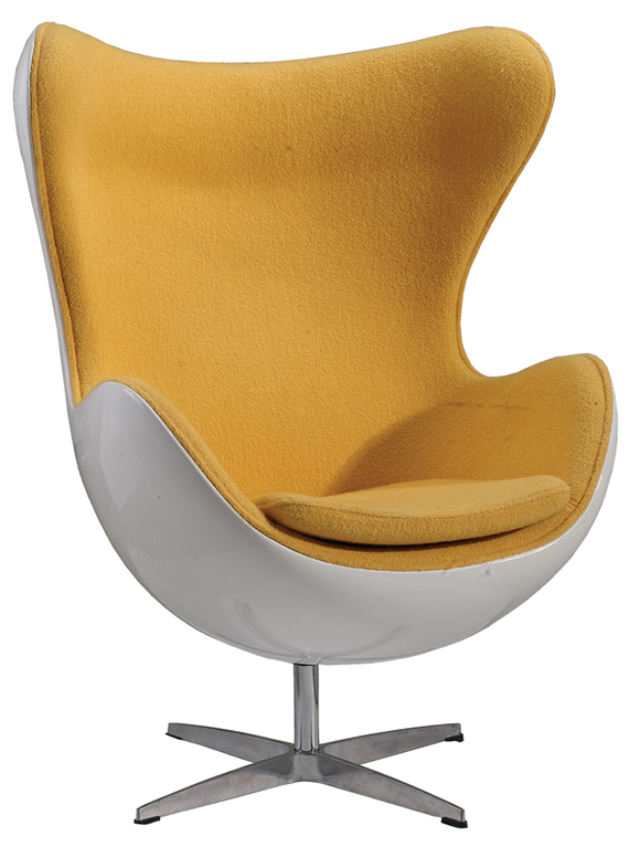egg shaped chair