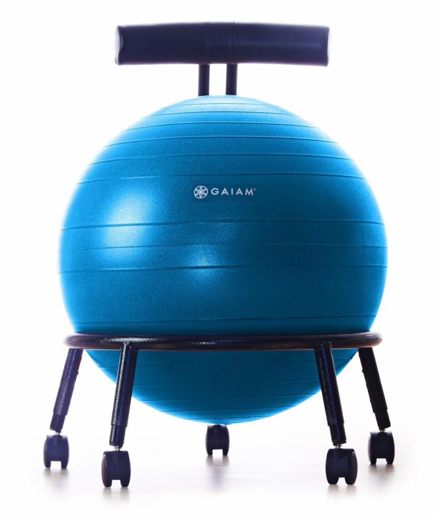 exercise ball chair