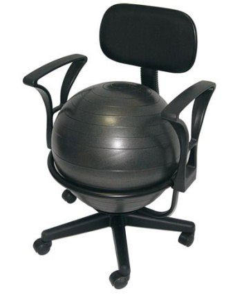 exercise ball office chair