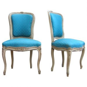 fabric for dining room chair blue upholstered french chairs