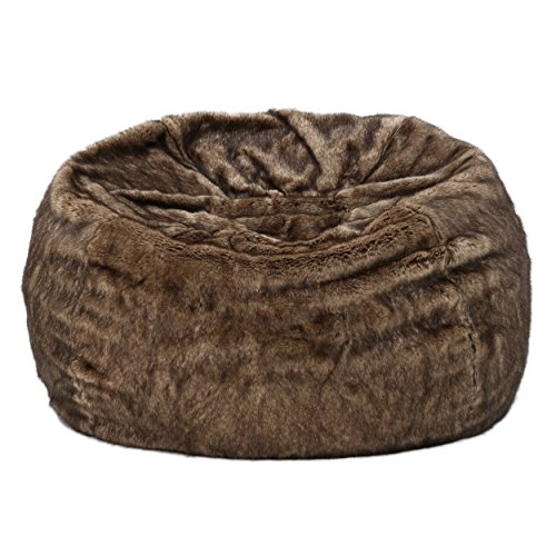 faux fur bean bag chair vrzpqipul