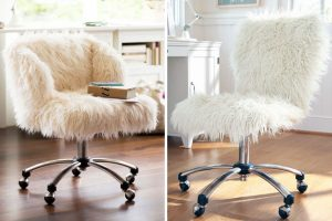 faux fur butterfly chair fur