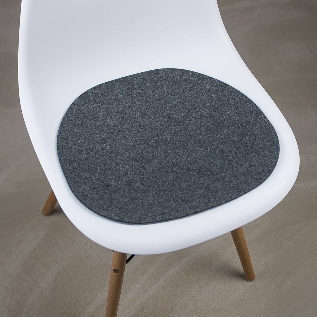 felt chair pads werktat felt seat pad suitable for eames chair bic