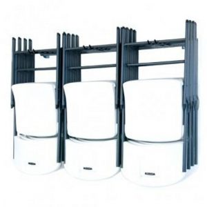 folding chair rack chair angled