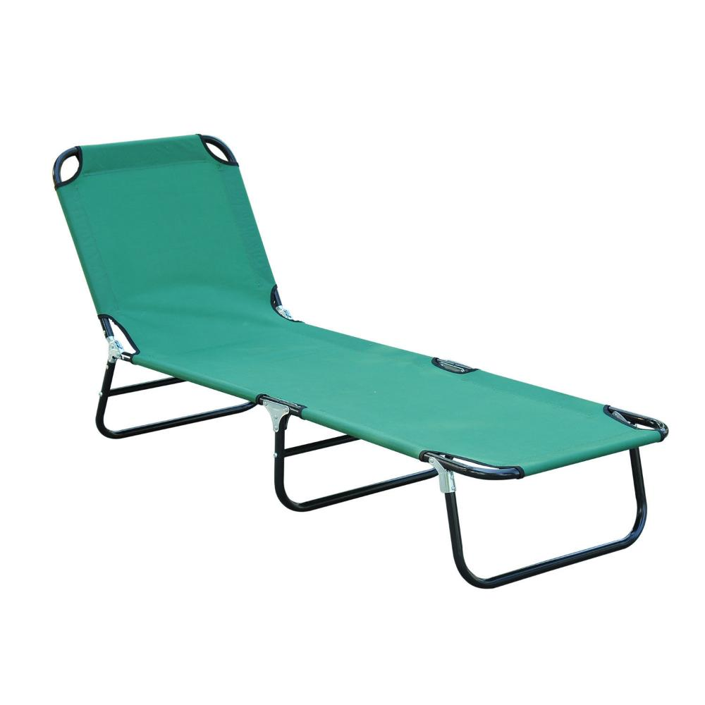 folding chase lounge chair