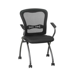 folding desk chair deluxe commercial titanium folding office chair