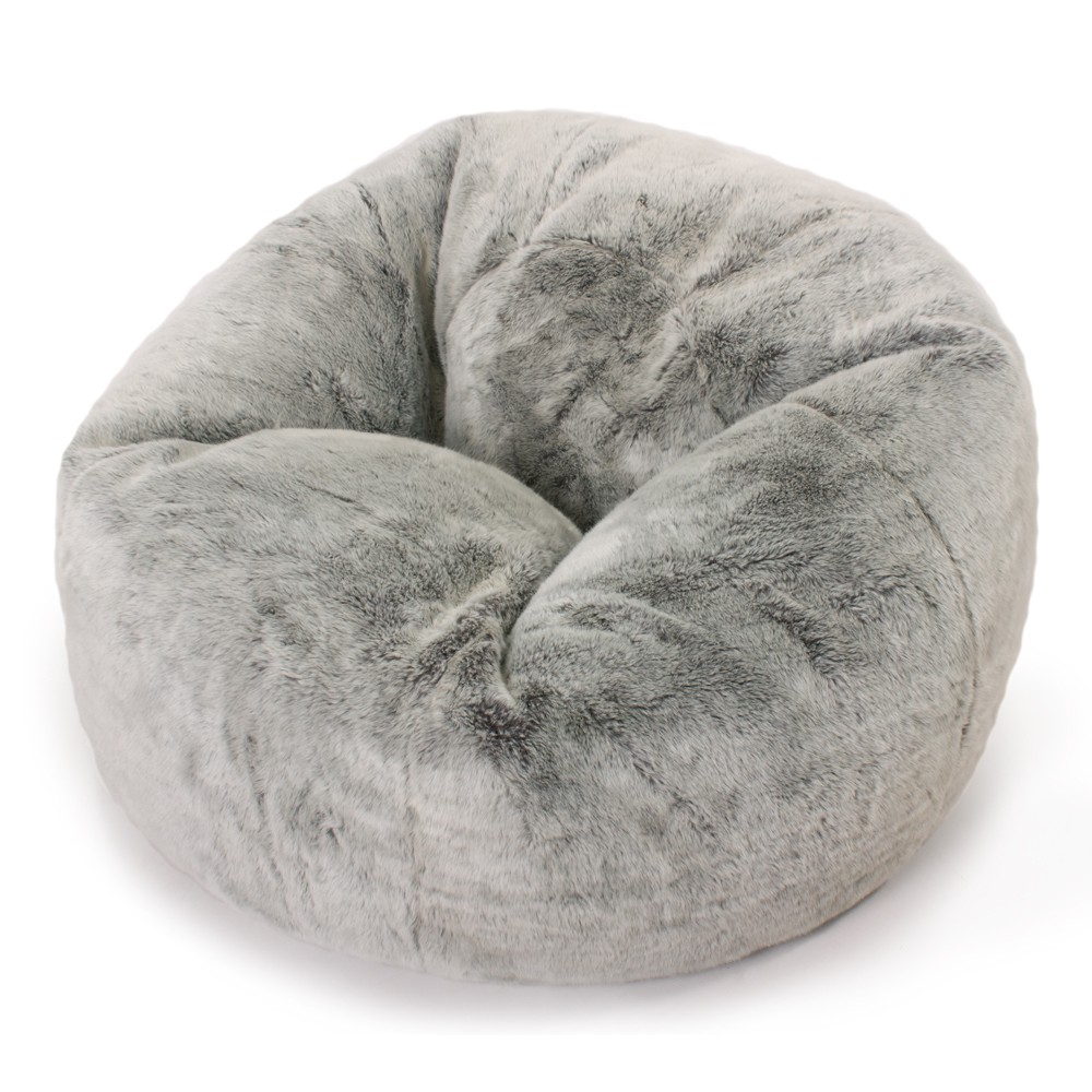 fur bean bag chair