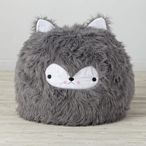 furry bean bag chair beanbag furry wolf