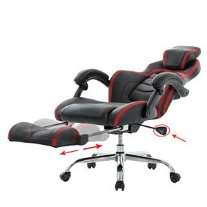gaming chair with footrest adtczzuil
