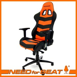 gaming computer chair thunderbolt orange