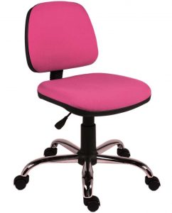 girls desk chair rose pink chair for office operator