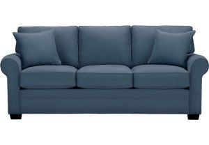 gray office chair lr sof bellingham indigo~cindy crawford home bellingham indigo sofa