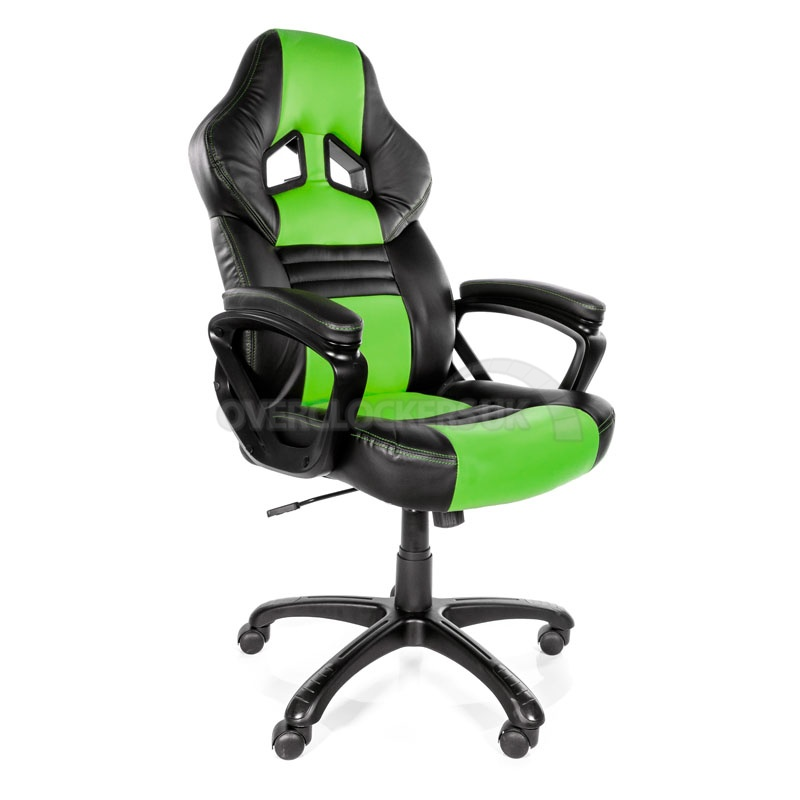 green gaming chair gczz x