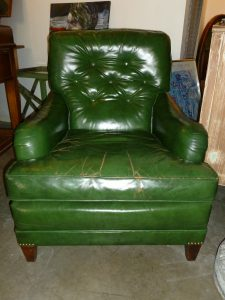 green leather chair green leather club chairea sold