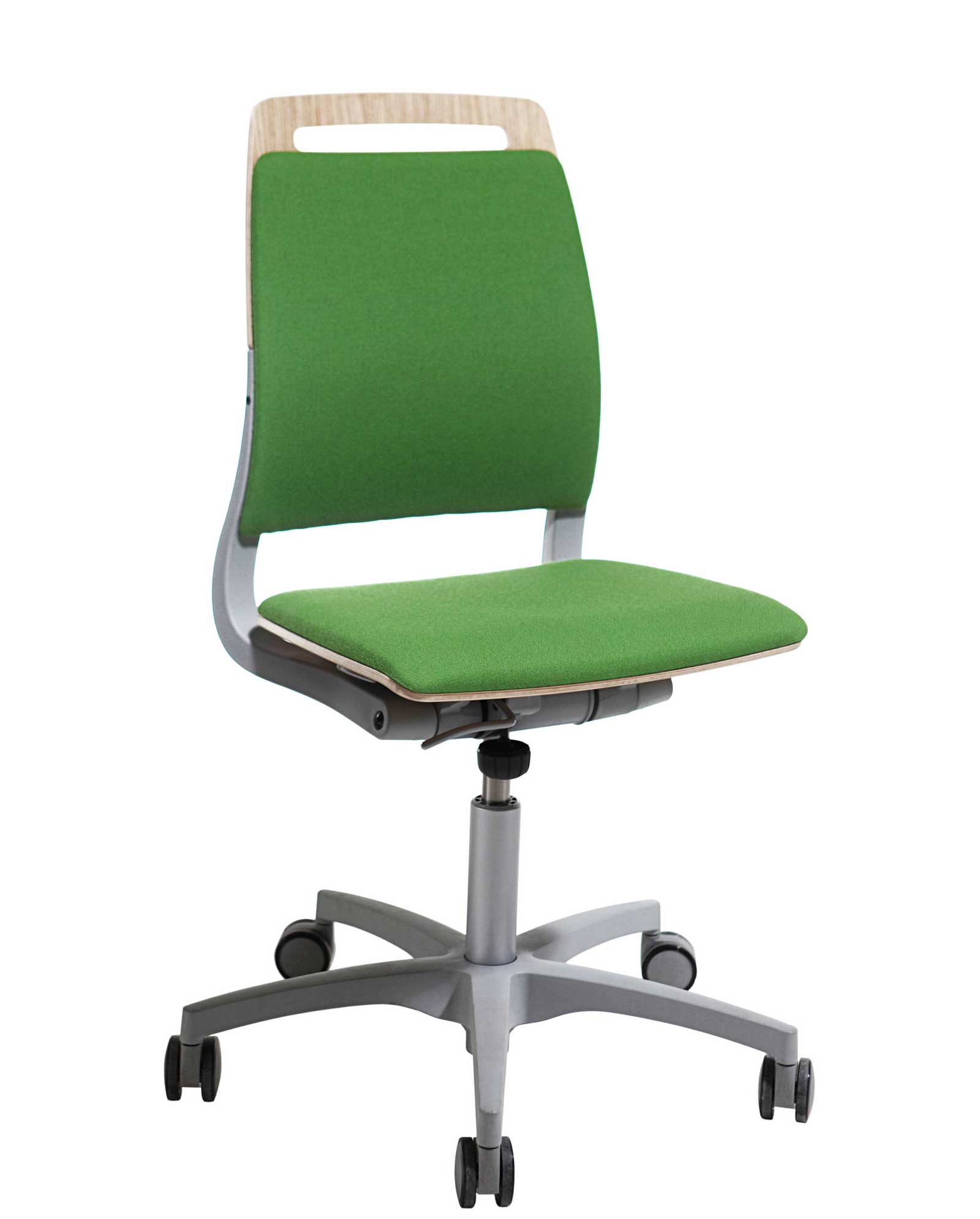 green office chair adjustable back green armless office chairs