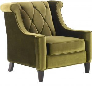 green velvet chair lcgreen