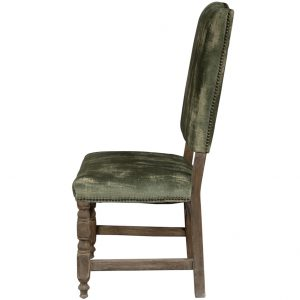 green velvet chair lucky's dining chair green velvet spanish villa