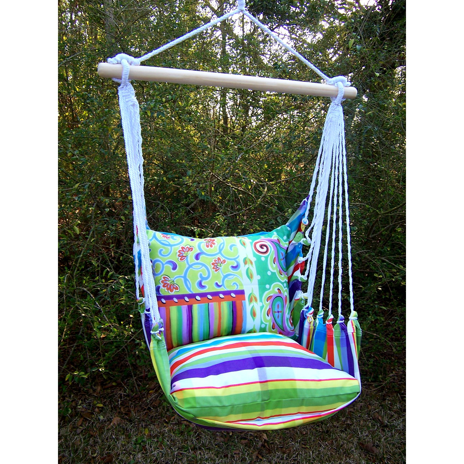 hanging porch swing chair double hammock co smsender tulum rope