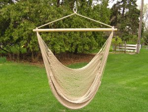 hammock chair swing tan rope swing main
